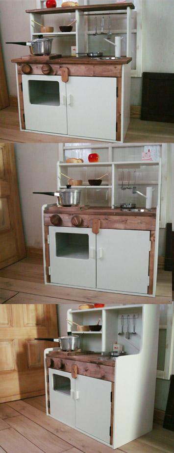 Wood Work AMA ハンドメイド 家具 おままごとキッチン 南あわじ