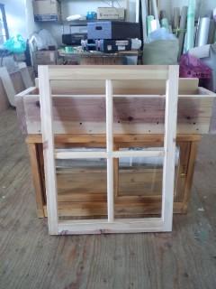 窓枠 建具 Wood Work AMA リフォーム ハンドメイド 家具