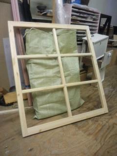 アンティーク 窓枠 Wood Work AMA 木工 家具 建具