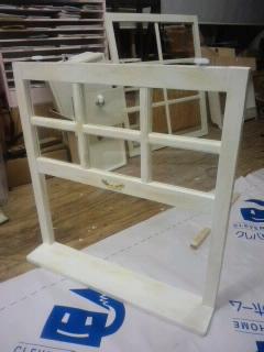 ハンドメイド 木工 建具 窓枠 アンティーク Wood Work AMA